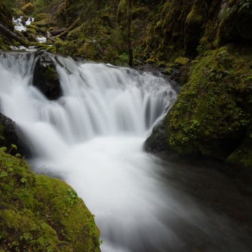 Emerald Falls, Gorton Creek- Columbia River Gorge National Scenic Area