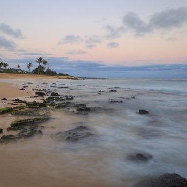 Sunset on Sandy's Beach- Sandy's Beach