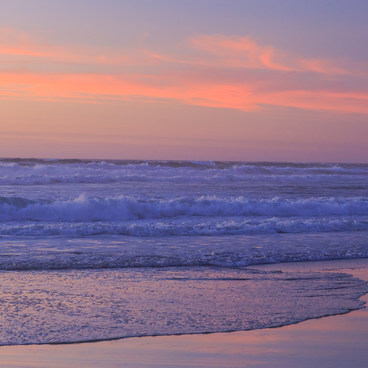Beautiful sunset from Neskowin Beach- Neskowin Beach State Recreation Site