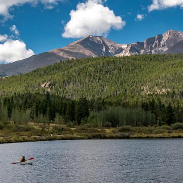 Lily Lake with Longs Peak- Lily Lake Loop Hike