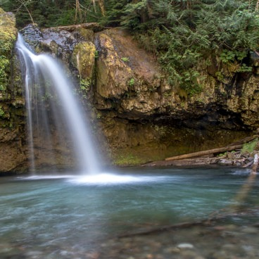 Iron Creek Falls- Mount St. Helens Windy Ridge Viewpoint