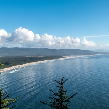 View to the south from the trail- Cape Lookout Hiking Trail