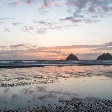 Three Arch Rocks from Oceanside Beach- Oceanside + Three Arch Rocks National Wildlife Refuge