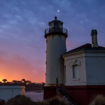 Coquille River Lighthouse- Coquille River Lighthouse