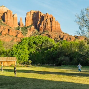 Cathedral Rock- Crescent Moon Ranch