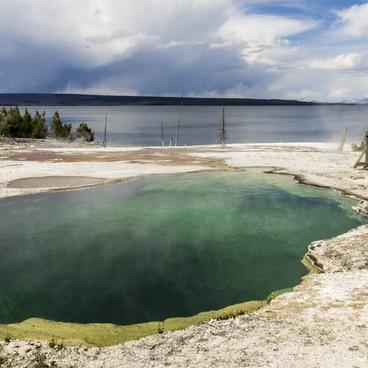 Sapphire Pool- West Thumb Geyser Basin