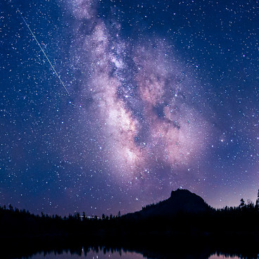 Perseid Meteor Shower in the High Sierra!- Long Lake Swimming Hole via Palisades Creek Trail