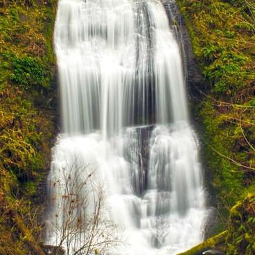 Royal Terrace Falls, 3_20_17- McDowell Creek Falls County Park