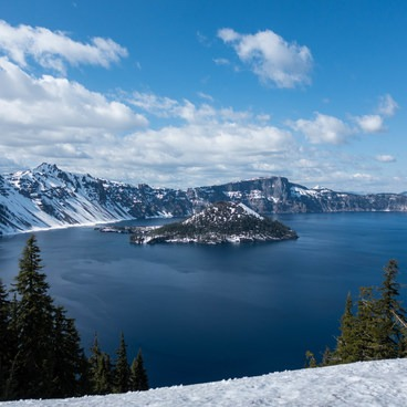 Wizard Island- Crater Lake National Park