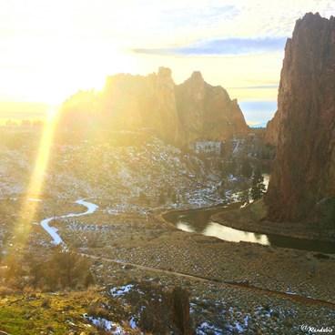 Smith Rock, Misery Ridge Hiking Trail