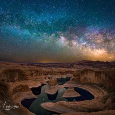 Milky Way over Reflection Canyon 2016- Reflection Canyon