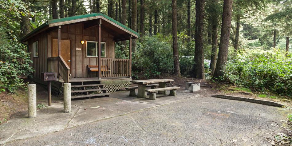 Bastendorff Beach County Park Campground Outdoor Project