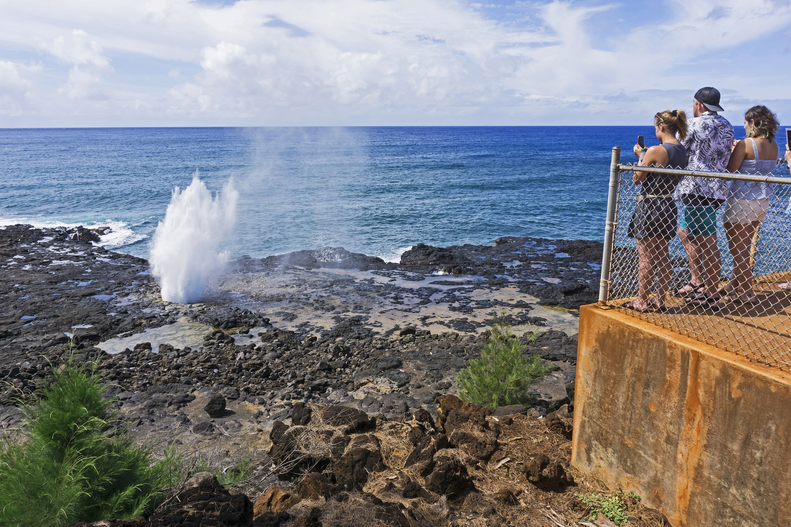 Spouting Horn Blowhole   Outdoor Project