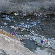 Buckeye Hot Springs, California, Outdoor Project