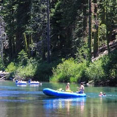 Truckee River Float, California, Outdoor Project