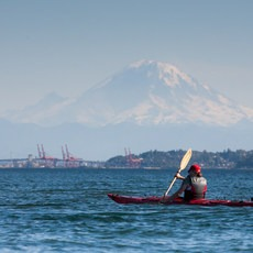 Puget Sound, Golden Gardens to West Point Lighthouse, Washington, Outdoor Project