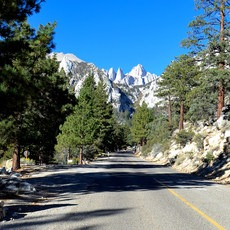 Whitney Portal Recreation Area, California, Outdoor Project