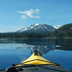 Lake Tahoe, Rubicon Point to Pope Beach, California, Outdoor Project