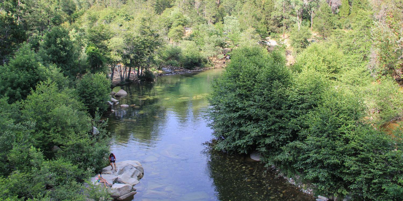 Oregon Creek Day Use Area Swimming Holes In California