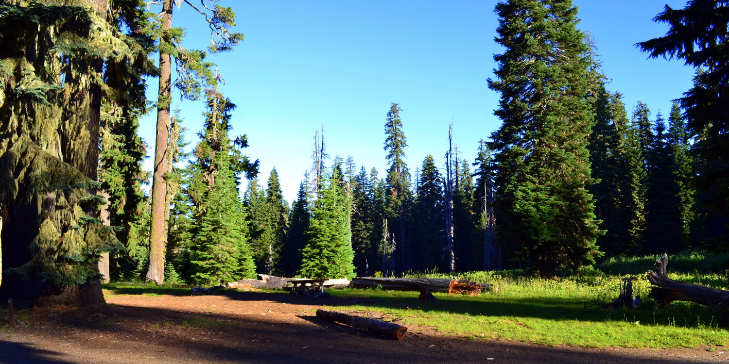 Huckleberry Mountain Campground - camping in Oregon