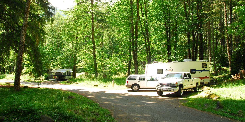 Blue Lake Creek Campground - camping in Washington