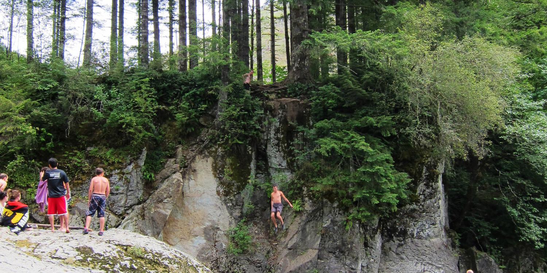 Naked Falls, Washougal River - - 372.1KB