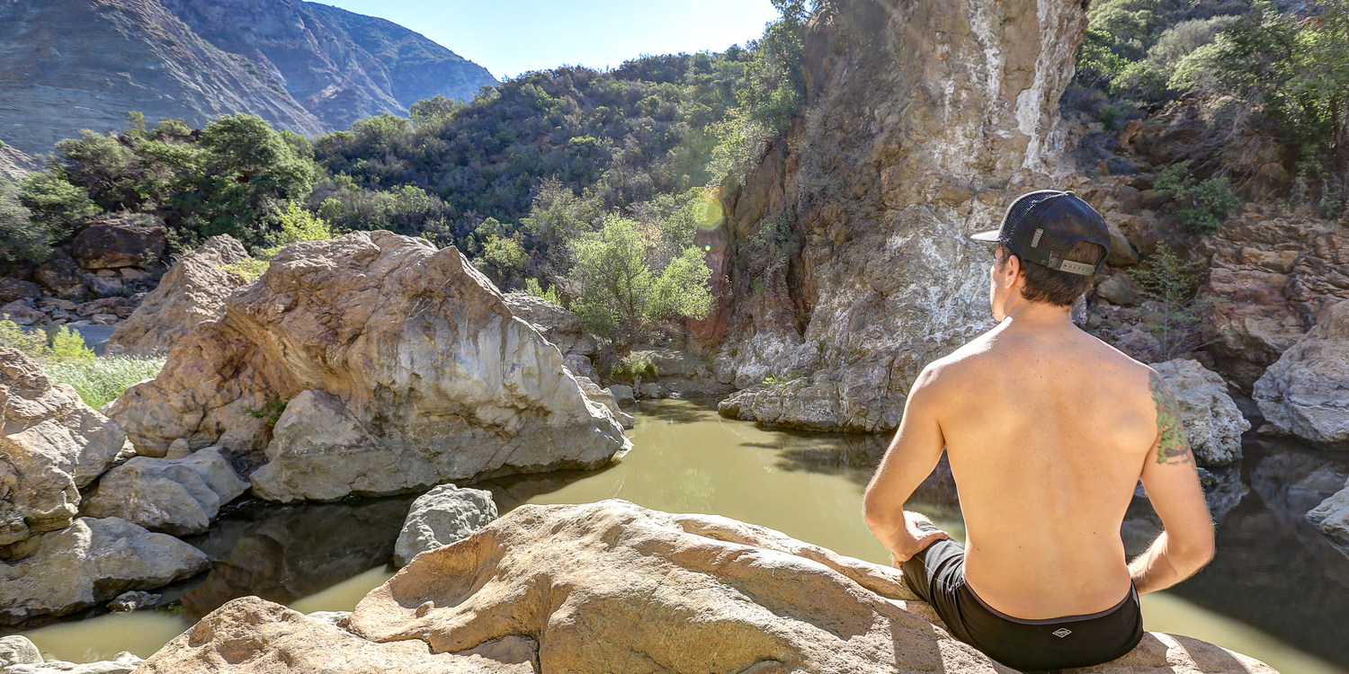 Red Rock Pool Swimming Holes In California Cliff