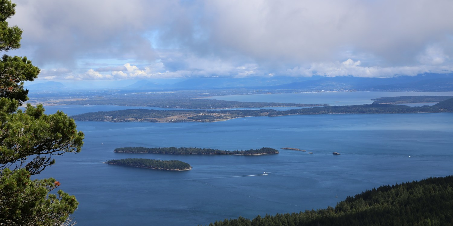 Language In 45 And 47 Stella Street: Orcas Island, Cold Springs Trail To Mount Constitution