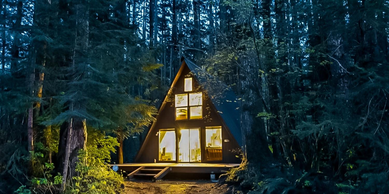 Rustic cabins in washington via airbnb outdoor project for Winter cabin rentals colorado
