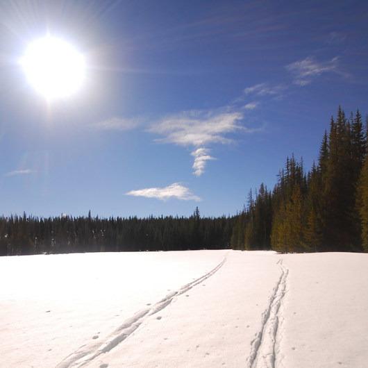 Swampy Lakes, Porcupine Snowshoe Loop