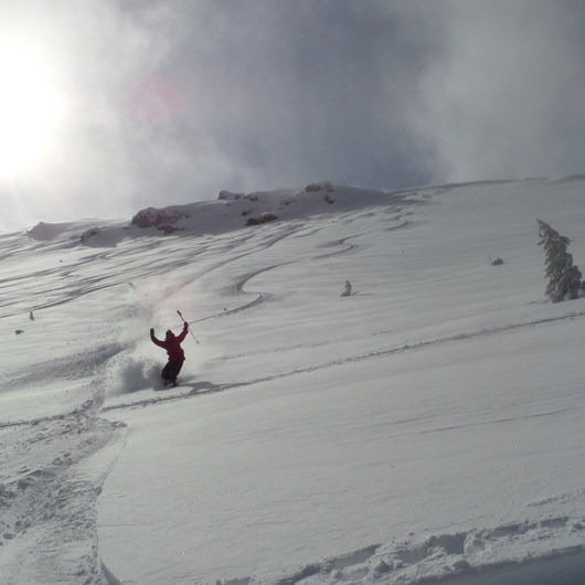 Tumalo Mountain Backcountry Skiing + Snowboarding