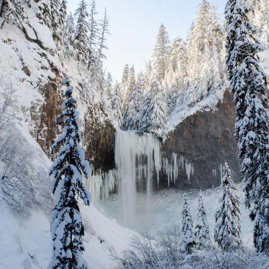 Tamanawas Falls Snowshoe