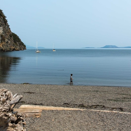 Lopez Island: Watmough Bay