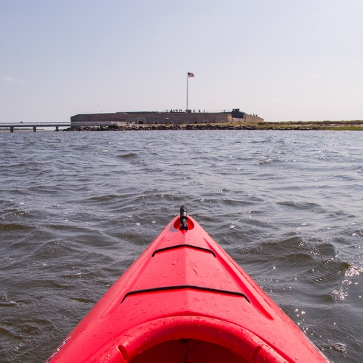 Fort Sumter Sea Kayaking