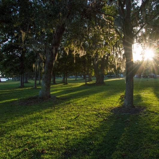 Buck Hall Recreation Area Campground