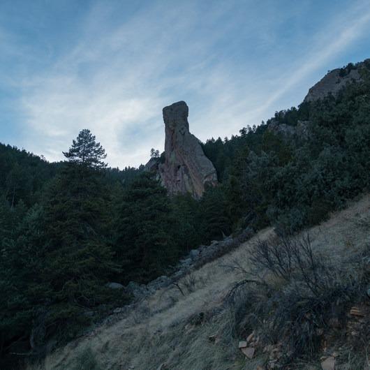 South Boulder Peak via Shadow Canyon