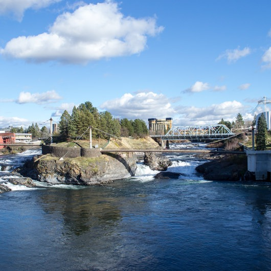 Upper Spokane Falls