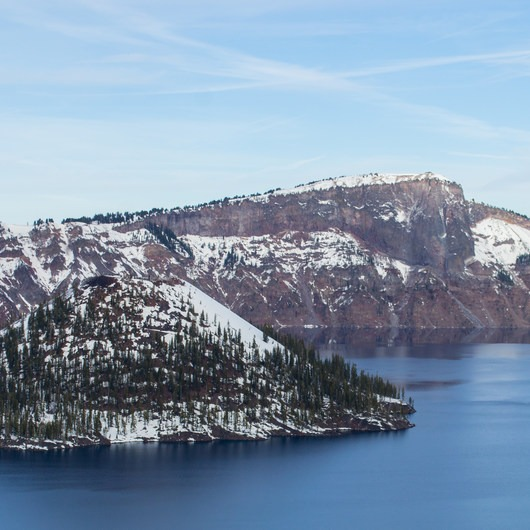 Crater Lake Guided Snowshoe