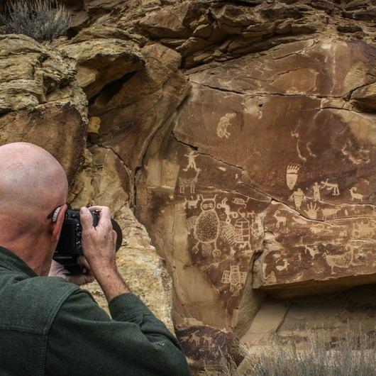 Nine Mile Canyon Petroglyph Area