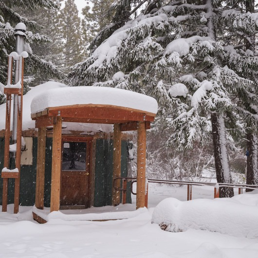 Link Creek Winter Yurt