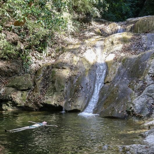 Velo de Novia Waterfall + Cerro Escondido Cabin Trail