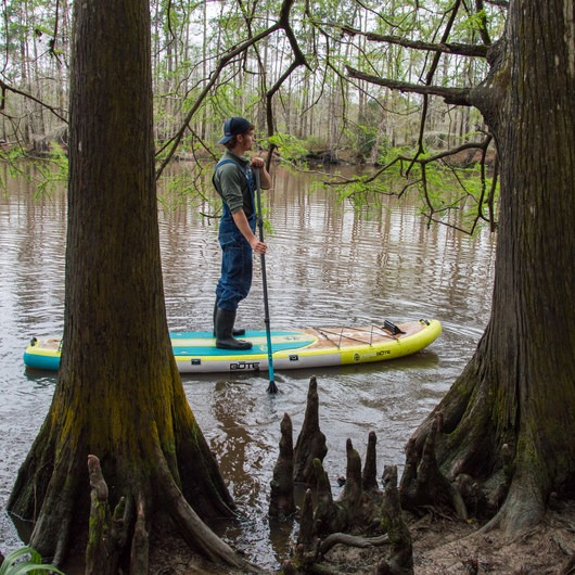 Sam Houston Jones State Park Paddling