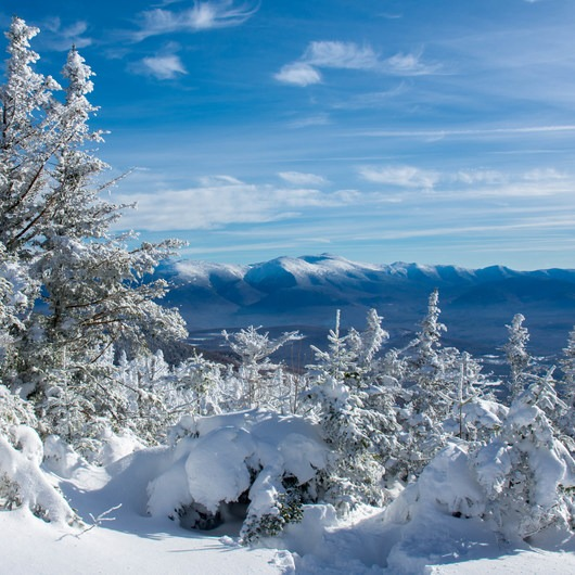 Mount Starr King + Mount Waumbek Snowshoe