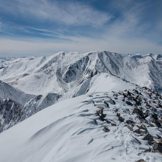 Mount Guyot: Northwest Slopes