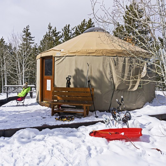 Bear Claw Yurt