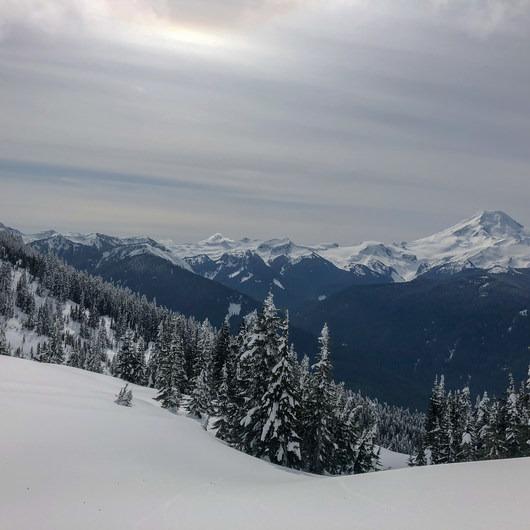 Excelsior Pass Snowshoe