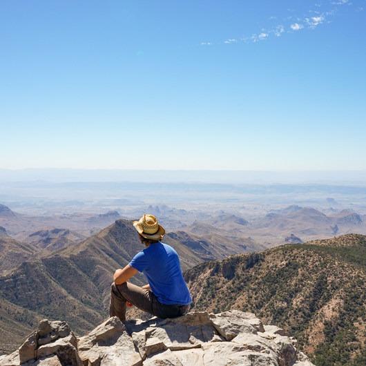 Emory Peak via Pinnacles Trail