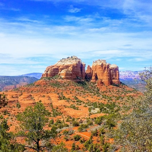 Hiline Trail Loop to Cathedral Rock