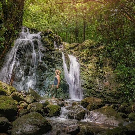 Waiakeakua Stream