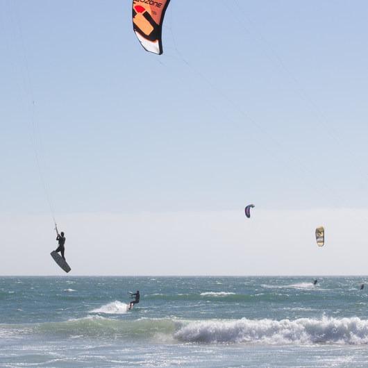 Waddell Beach Kitesurfing